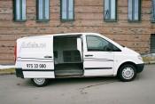 Flyttebil - Mb Vito